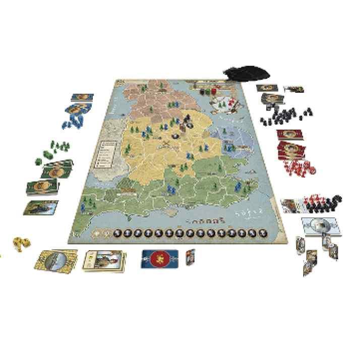 878 Vikings La Invasion de Inglaterra TABLERUM