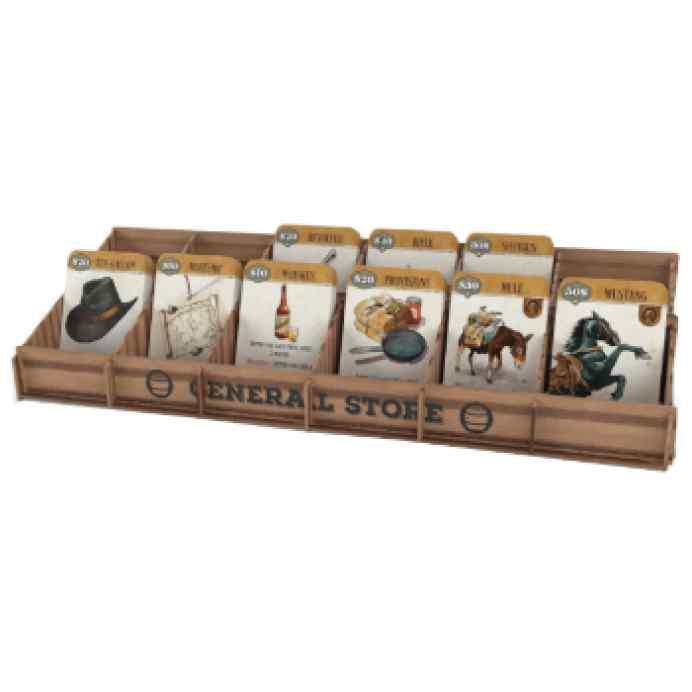 Western Legends: Wooden General Store TABLERUM
