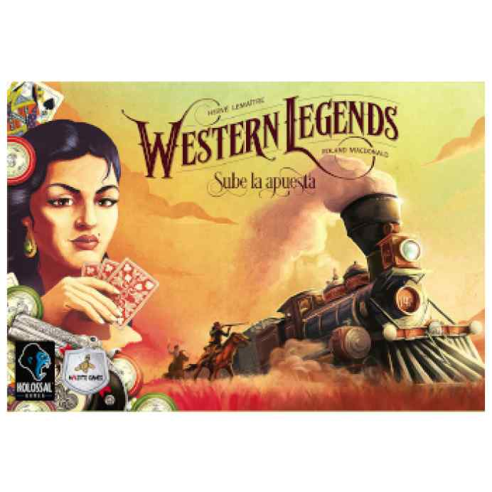 Western Legends: Sube la Apuesta TABLERUM