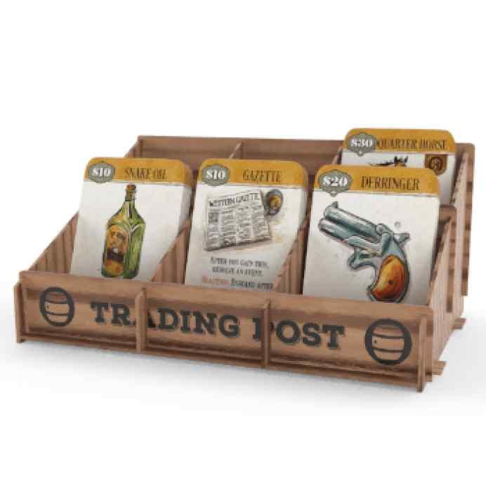Western Legends: Wooden Trading Post TABLERUM