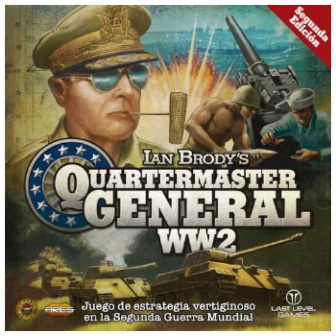 Quartermaster General: WW2 Segunda Edición TABLERUM