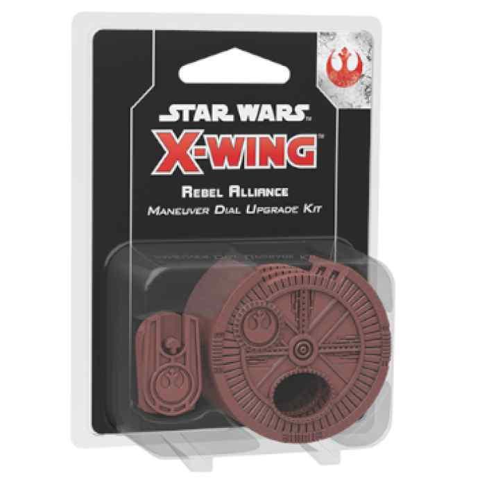 X-Wing (2ª Ed): Kit de mejora de selector de maniobra para Alianza Rebelde TABLERUM