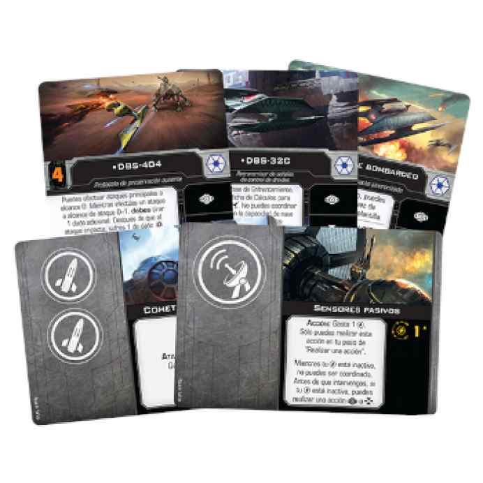 X-Wing (2ª Ed): Bombardero droide clase Hiena TABLERUM