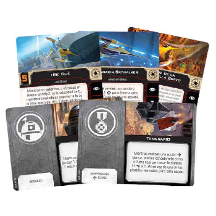 X-Wing (2ª Ed): Caza estelar real N-1 de Naboo TABLERUM