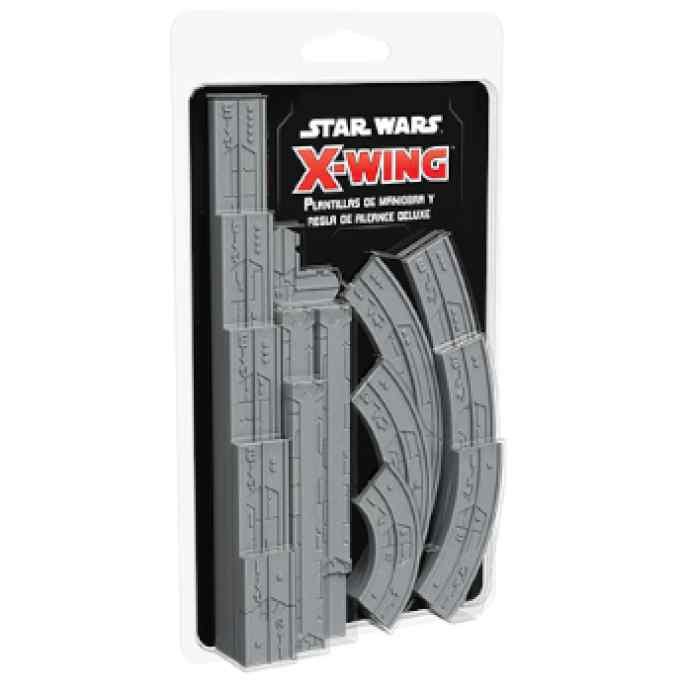 X-Wing (2ª Ed): Plantillas de Maniobra y Reglas de Alcance DeLuxe TABLERUM