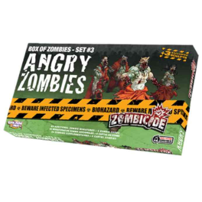 Zombicide: Angry Zombies TABLERUM