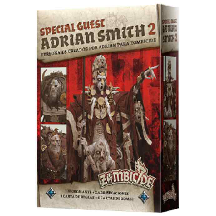 Zombicide Black Plague: Special Guest Adrian Smith 2 TABLERUM