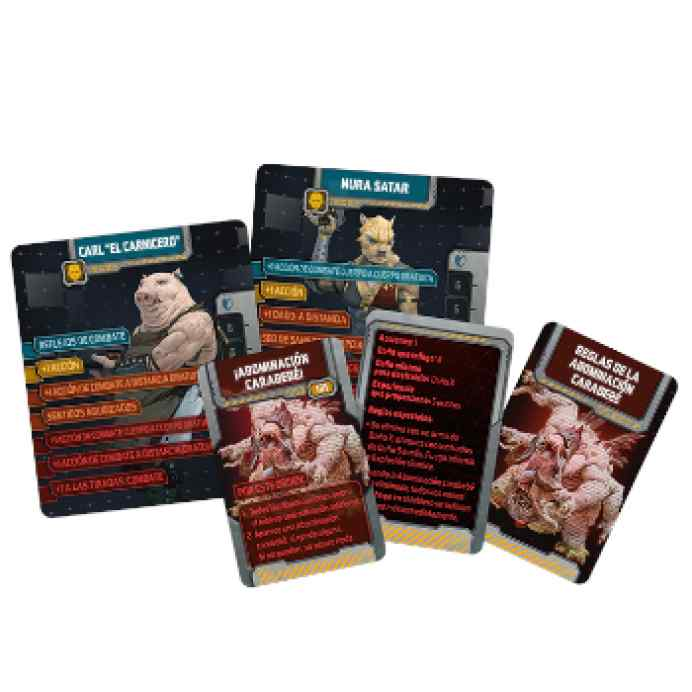 Zombicide: Invader: Survivors of the Galaxy TABLERUM