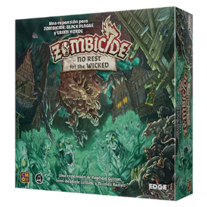 Zombicide Black Plague: No Rest for the Wicked TABLERUM