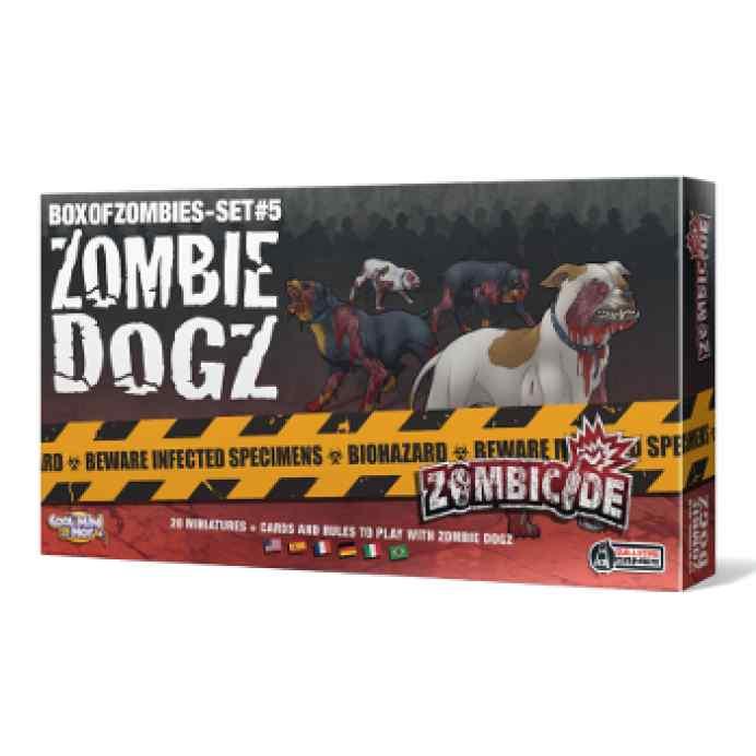comprar juego de mesa Zombicide: Zombie Dogz