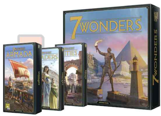 7 Wonders Nueva Edición Pack TABLERUM