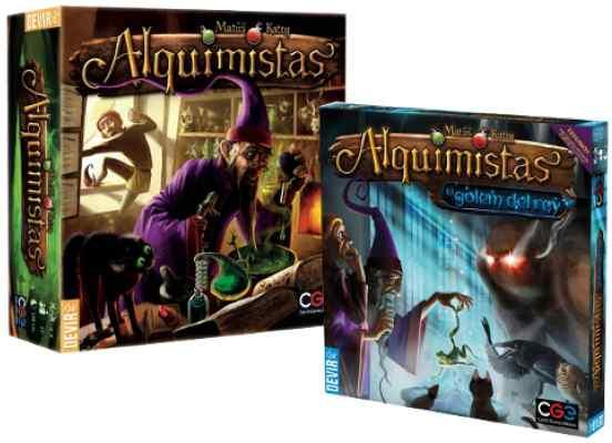 Alquimistas más Alquimistas El gólem del Rey expansión Tablerum