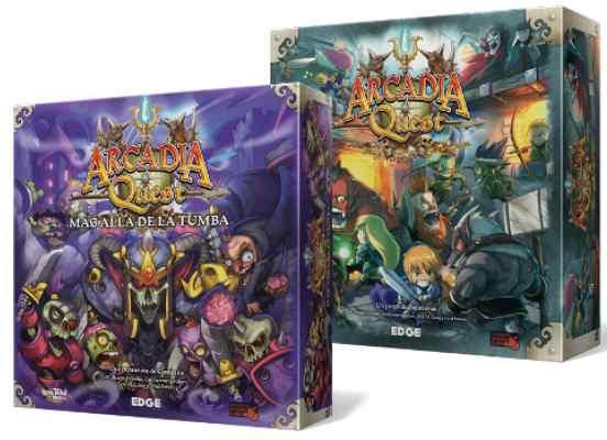 Arcadia Quest + Arcadia Quest Más Allá de la Tumba