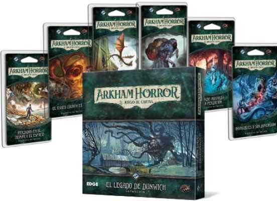 Arkham Horror (LCG): Campaña El Legado de Dunwich TABLERUM