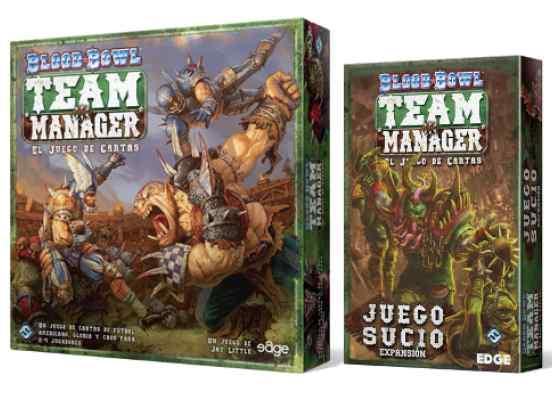 Blood Bowl Team Manager + Juego Sucio