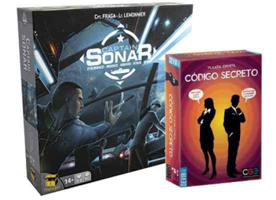 Captain Sonar + Código Secreto