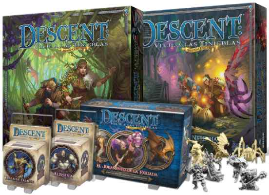 comprar Descent Expansiones