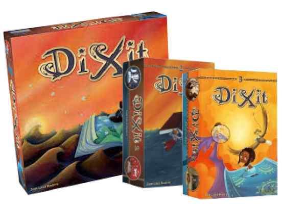 Dixit+ Dixit 2 + Dixit 3