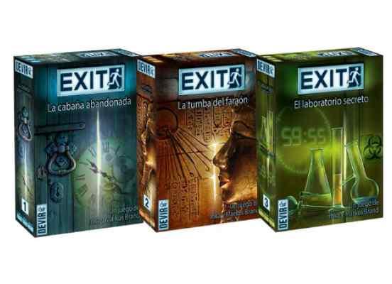 Exit juegos 1-2-3 TABLERUM Español