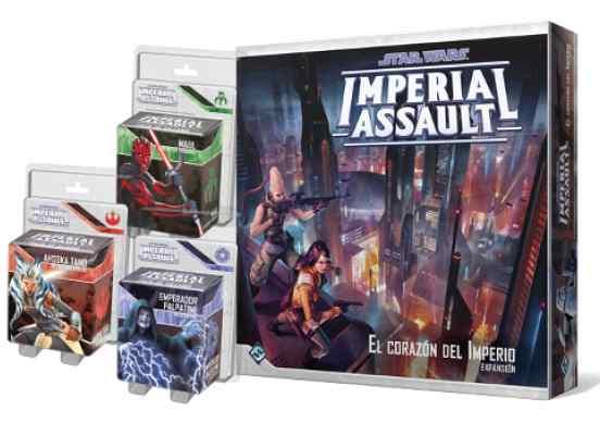 Imperial Assault Oleada 10 TABLERUM