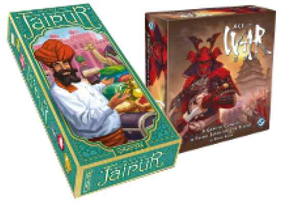 comprar juegos viaje Jaipur y Age of War