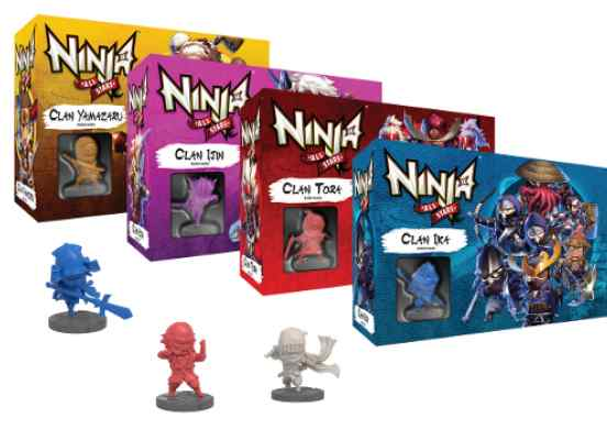 Ninja All Stars Expansiones