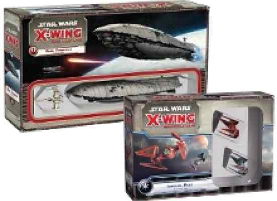 X-Wing: Transporte GR75 + Ases Imperiales