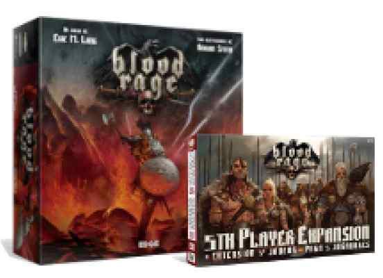 comprar Blood Rage y expansión para 5 jugadores