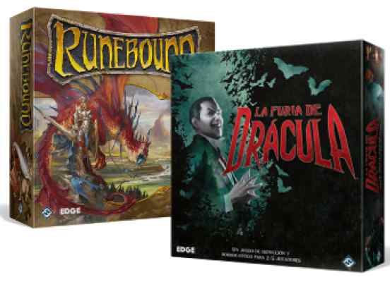 La Furia de Drácula + Runebound