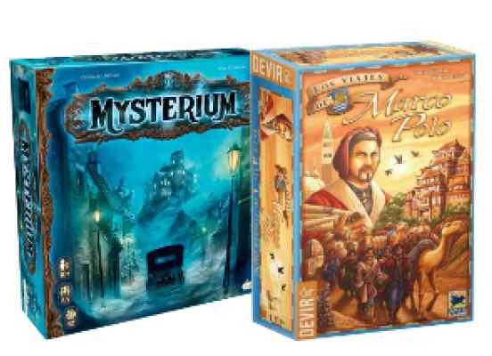 comprar Mysterium y Los Viajes de Marco Polo