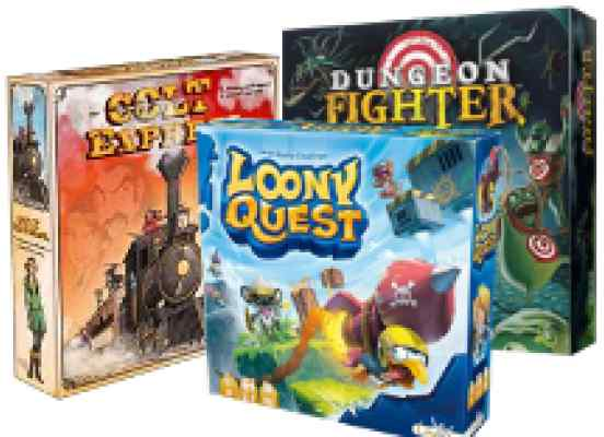 comprar Dungeon Fighter + Looney Quest + Colt Express