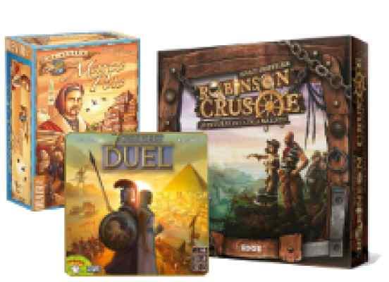 comprar Robinson, Marco Polo 7 Wonders Duel
