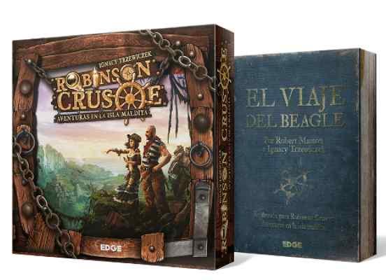 Robinson Crusoe + El Viaje del Beagle