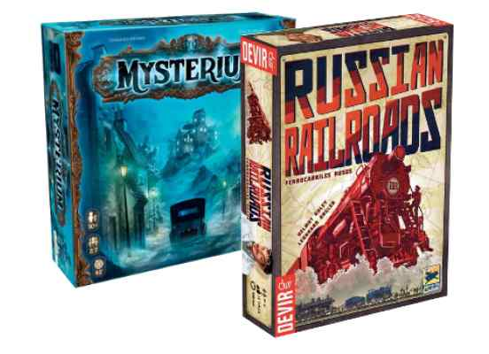 Russian Railroads + Mysterium