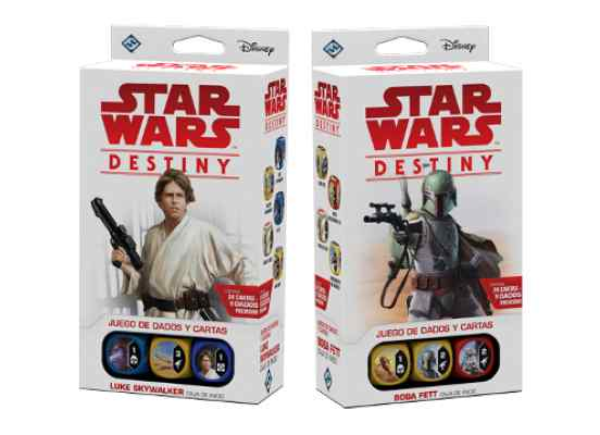Star Wars Destiny: Pack de inicio Luke Skaywalker + Boba Fett TABLERUM
