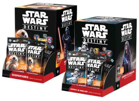 Star Wars Destiny Despertares y Espíritu de Rebelión TABLERUM