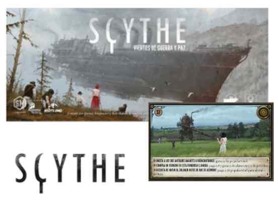 Scythe: Vientos de Guerra y Paz + Promo 37-42 TABLERUM