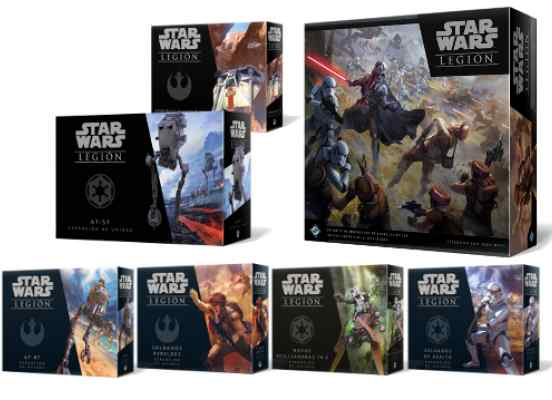 Star Wars Legión + Oleada 1 TABLERUM