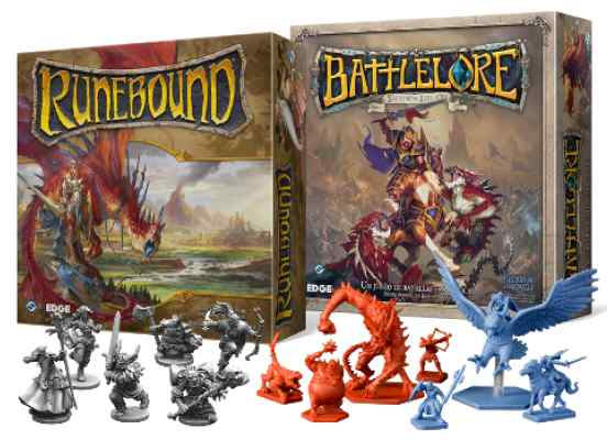 Battlelore y Runebound Juegos en Terrinoth