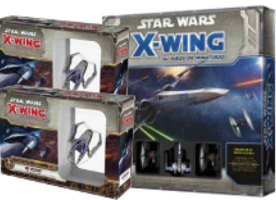 Star Wars X Wing Pack El Despertar de la Fuerza y Doble IG