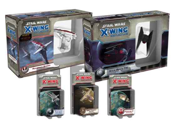 X Wing: Pack Oleada 12 TABLERUM