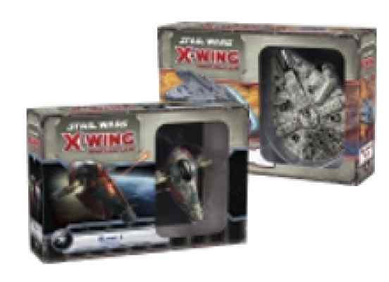 comprar X-Wing: Halcon Milenario + Esclavo 1