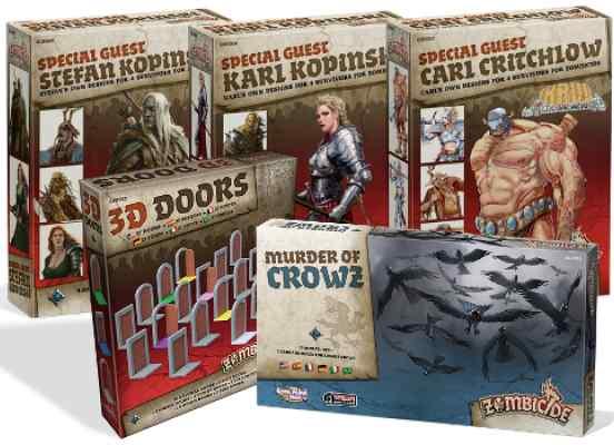 Zombicide Black Plague expansiones
