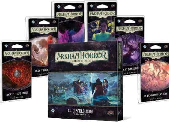 Arkham Horror (LCG): Campaña El Círculo Roto TABLERUM
