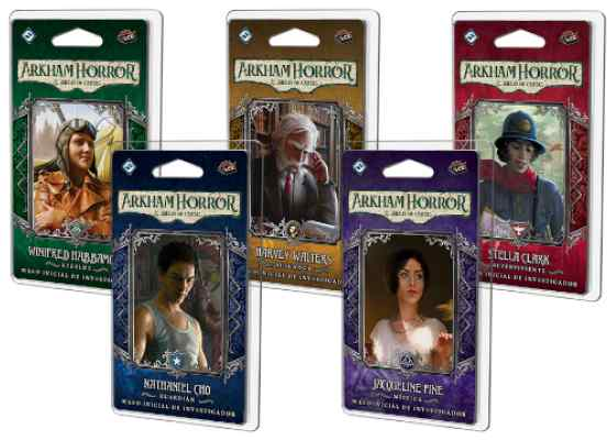 Arkham Horror (LCG): Pack de Investigadores TABLERUM