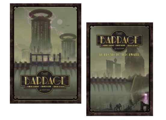 Barrage Pack con expansión TABLERUM