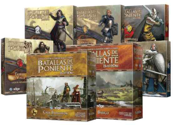 Batalla de Poniente Pack TABLERUM