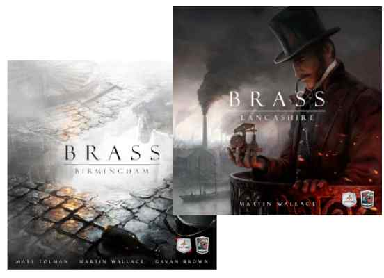 Brass: Lancashire + Birmingham TABLERUM