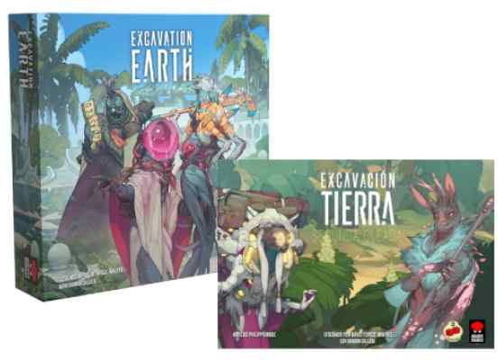 Excavation Earth + Excavation Earth Segunda Oleada TABLERUM Pack