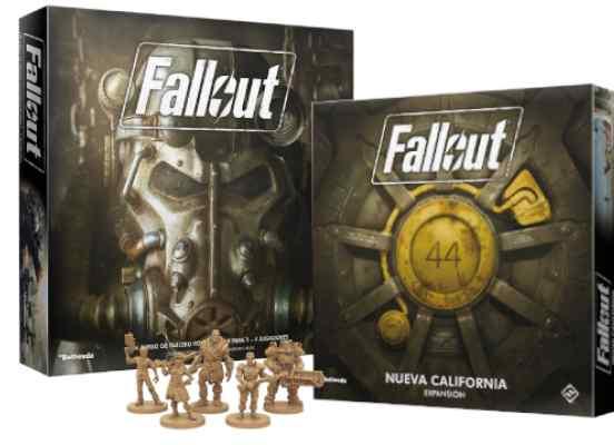Fallout: El Juego de Tablero + Exp. Nueva California TABLERUM